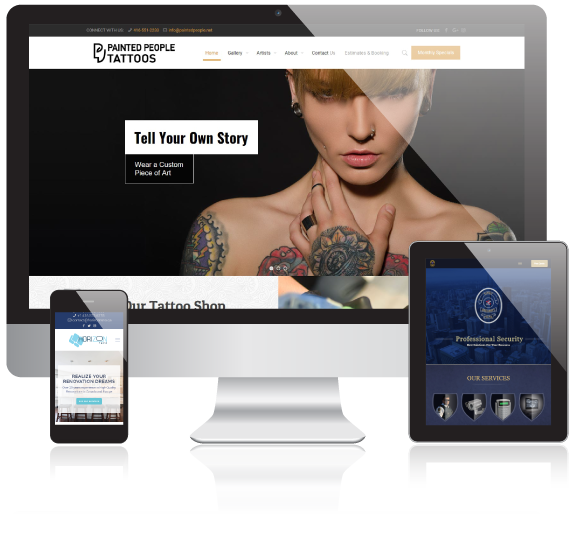 web design development services